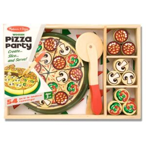 Set de joaca din lemn Pizza Party (MD0167)