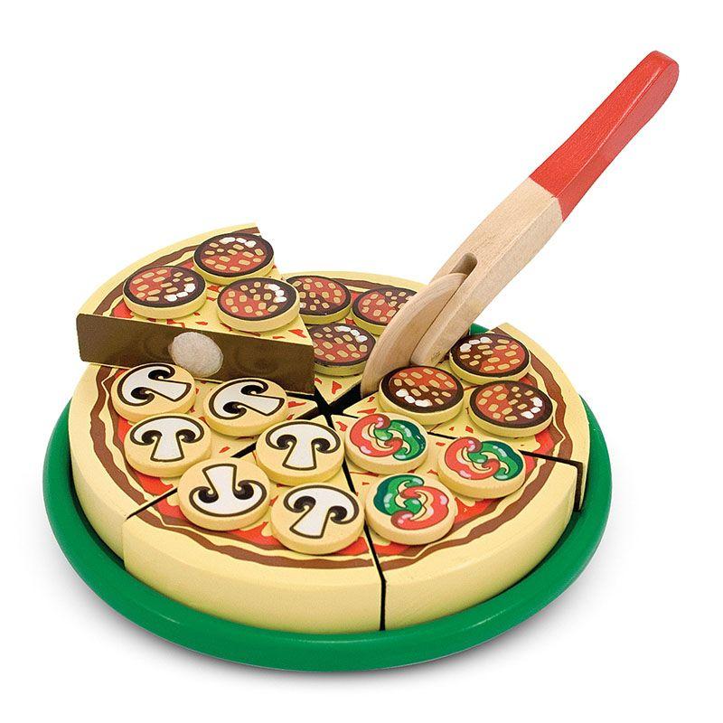 Set de joaca din lemn Pizza Party (MD0167)