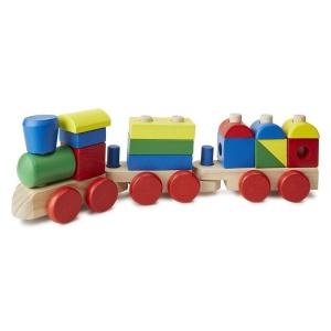 Trenulet din lemn de stivuit (MD0572)