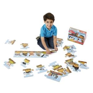 Puzzle de podea - Trenul alfabet (MD0424)