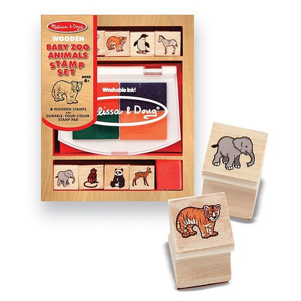 Set stampile animale salbatice (MD1638)