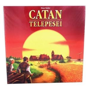 Catan Telepesei társasjáték (0025-PI)