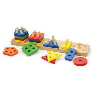 Joc de sortare educativ cu forme geometrice (3766-VI)