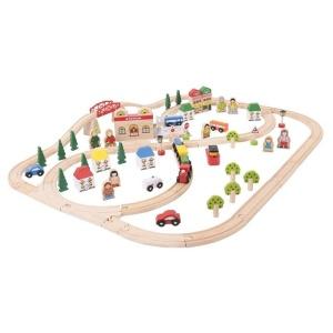 Circuit auto si feroviar (101 piese) (BJT015-DS)