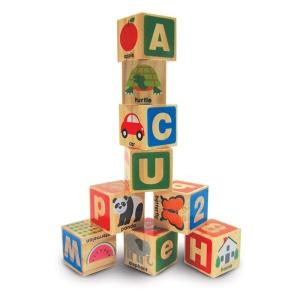 Cuburi din lemn Alfabetul (MD2253-DS)