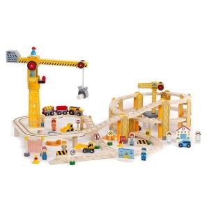 Circuit feroviar Santier de constructii (82 piese) (FA-4294-DS)