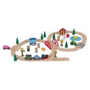 Circuit feroviar - Ferma (51 piese) (FA-4285-DS)