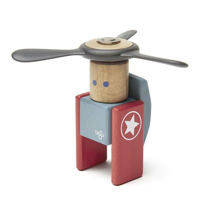 Tegu - Looper set din lemn magnetic (LPR-OGL-411T)