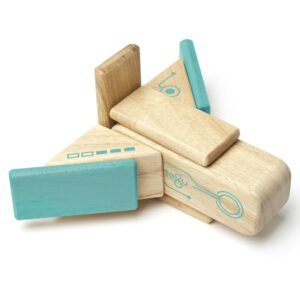 Tegu - Robo set din lemn magnetic (RBO-TL1-405T)