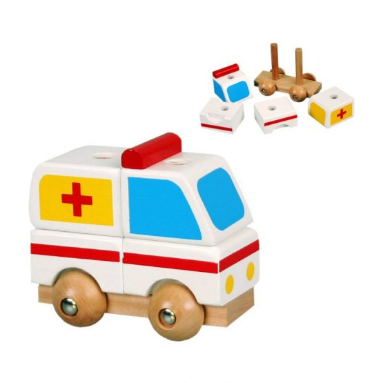 Ambulanta mini de asamblat (2262-A-FA)