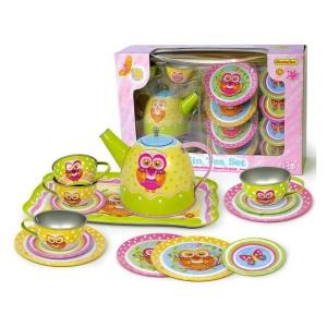Set de ceai pentru copii Bufnite – 15 piese (4317-FA)
