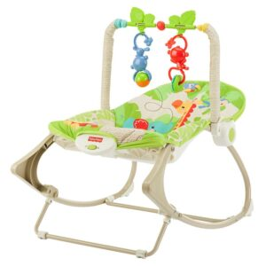 Balansoar cu animale 2 in 1 Fisher Price (CBF52)