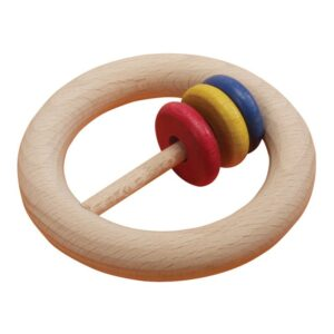 Zornaitoare montessori cu inele colorate (0295-FA)