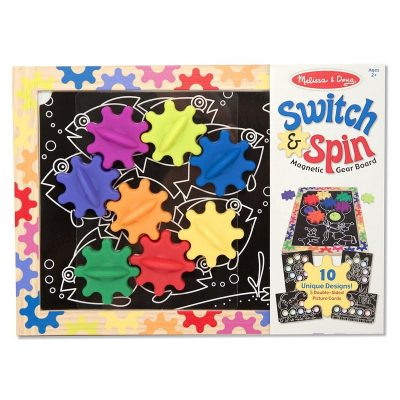 Puzzle magnetic Construieste si Roteste (MD3745)