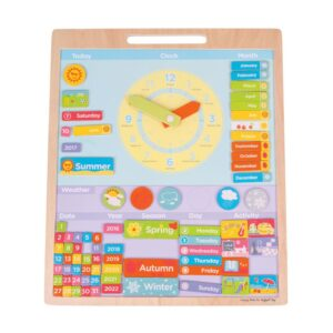 Calendar educativ magnetic lb. engleza (BJ592)
