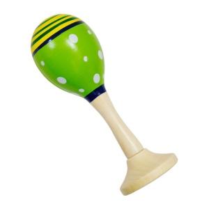 Mini maracas verde (14 cm) (3833-B-FA)