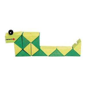 Rubic din lemn Crocodil (2159C-FA)