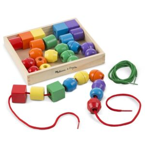 Margele mari din lemn Melissa and Doug (MD5440)