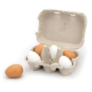 Set oua din lemn 6 buc. (3767-VI)