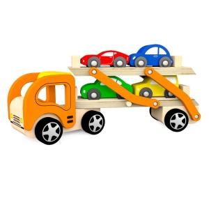 Transportor de masinute din lemn (4245-VI)