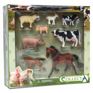 Animale de ferma  Set 8 figurine - Collecta (COL89696)