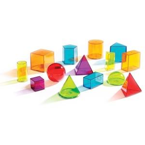 Forme geometrice 3D transparente (LER4331)