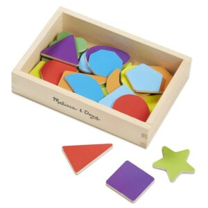 Forme magnetice din lemn (25 piese) (MD9277)
