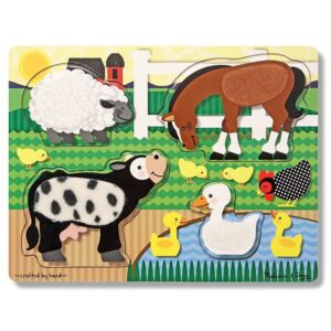 Puzzle tactil Ferma Melissa and Doug (MD4327)
