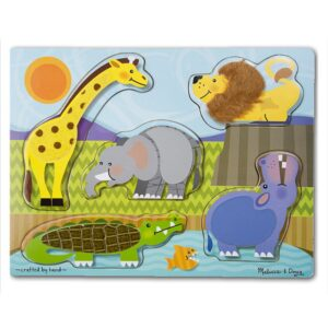 Puzzle tactil Zoo Melissa and Doug (MD4328)