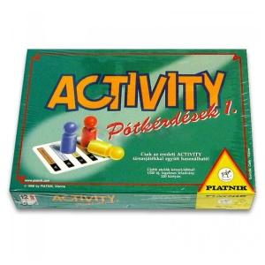 Activity pótkérdések (731501-PI)
