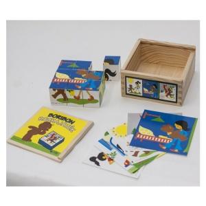 Boribon mesekocka 9 db-os kockapuzzle (148-NI)