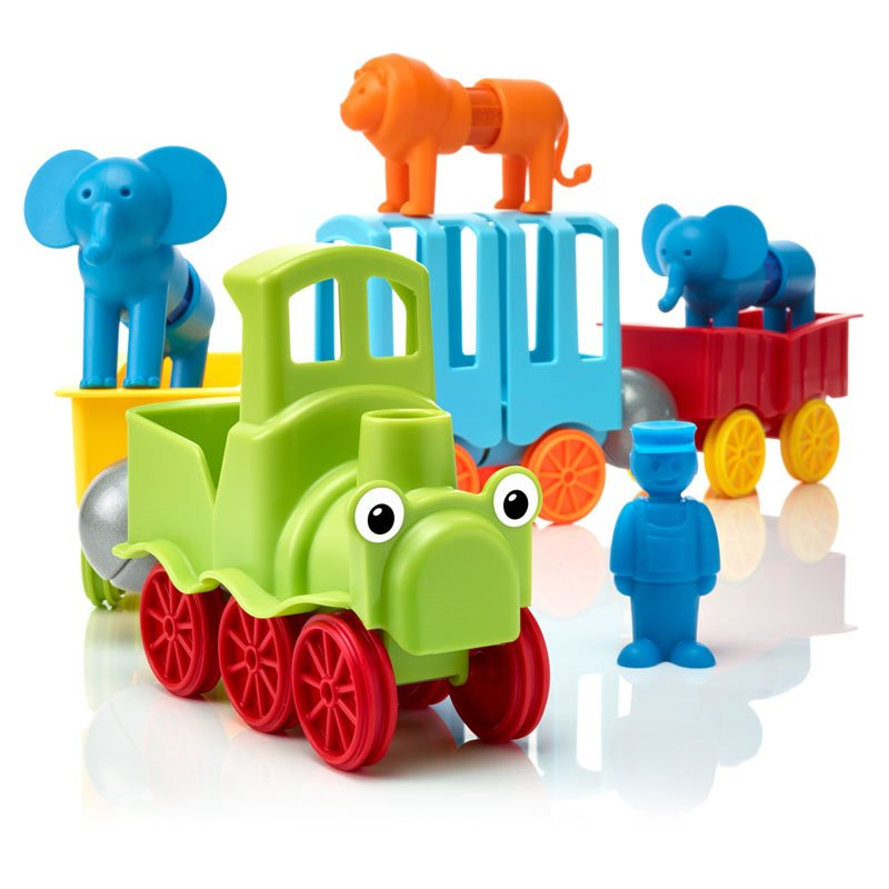 Joc magnetic SmartMax - Animal TRAIN (SMX410)