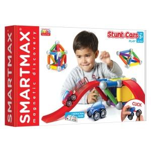 Joc magnetic SmartMax - Pista cu VEHICULE (SMX502)