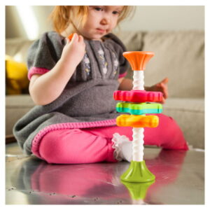 Jucarie senzoriala Spinny pentru bebelusi (FBTFA134-1)