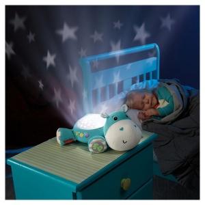 Proiector pentru bebe Hipopotam Fisher Price (MATTEL-CGN86)