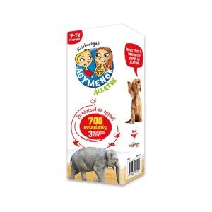 Agymenők kvízkártyák Állatok (7-14 évesek) (113633-HVG)