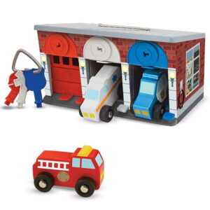 Incuie si descuie Garaj cu vehicule de interventii (MD4607)
