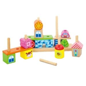 Piramida Montessori Oraselul Copiilor (3458-VI)