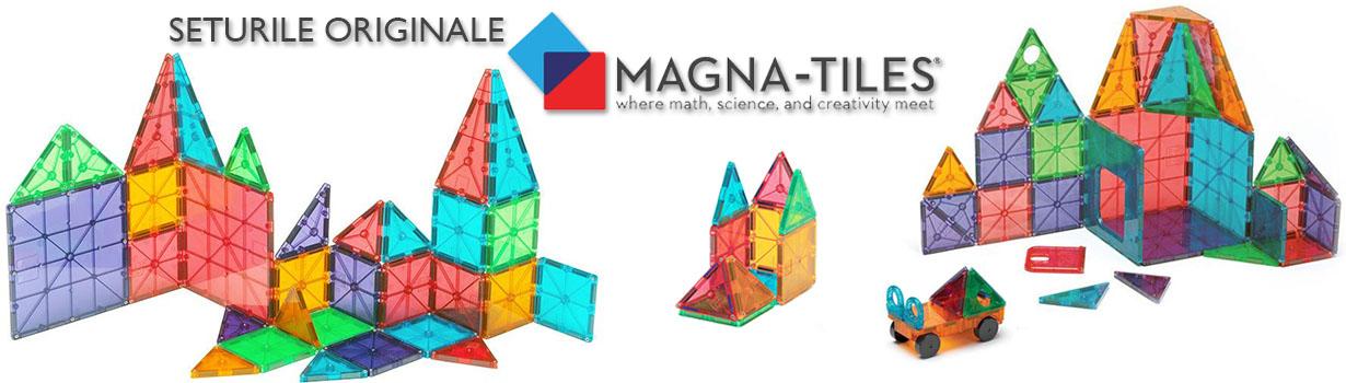 Seturile originale Magna-Tiles