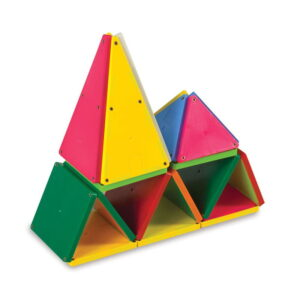 Magna-Tiles Solid Colors set magnetic (100 piese) (02300-MGT)