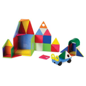 Magna-Tiles Solid Colors set magnetic (48 piese) (02148-MGT)