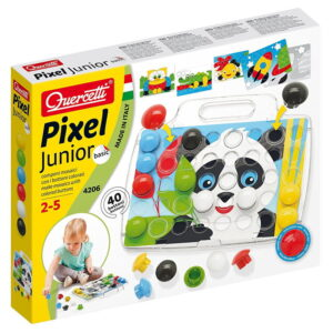 Pixel Junior set mozaic 40 butoni (Q4206)