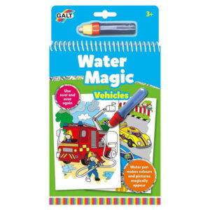 Carte de colorat cu apa Vehicule (1004933-GL)