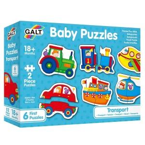 Puzzle pentru bebelusi Mijloace de transport (1003037-GL)