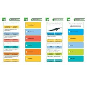 Agymenők kvízkártyák Dinoszauruszok (7-14 évesek) (113634-HVG)