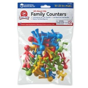 Set figurine de sortat si numarat Familia mea (LER3660)
