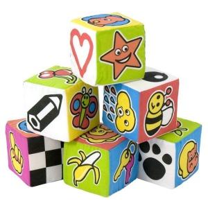 Cuburi educative moi pentru bebelusi (6 buc) (ML96414)