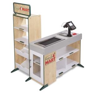 Supermarket din lemn cu scaner si POS (MD9340-DS)