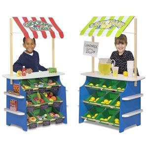 Toneta de joaca  2 in 1 pentru legume si fructe (MD4070-DS)