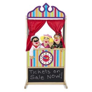 Teatru de papusi Melissa & Doug (MD2530)